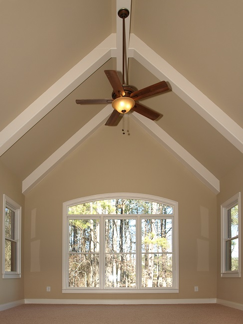 Tips for choosing the best ceiling fan for your needs for Ceiling fan size for room