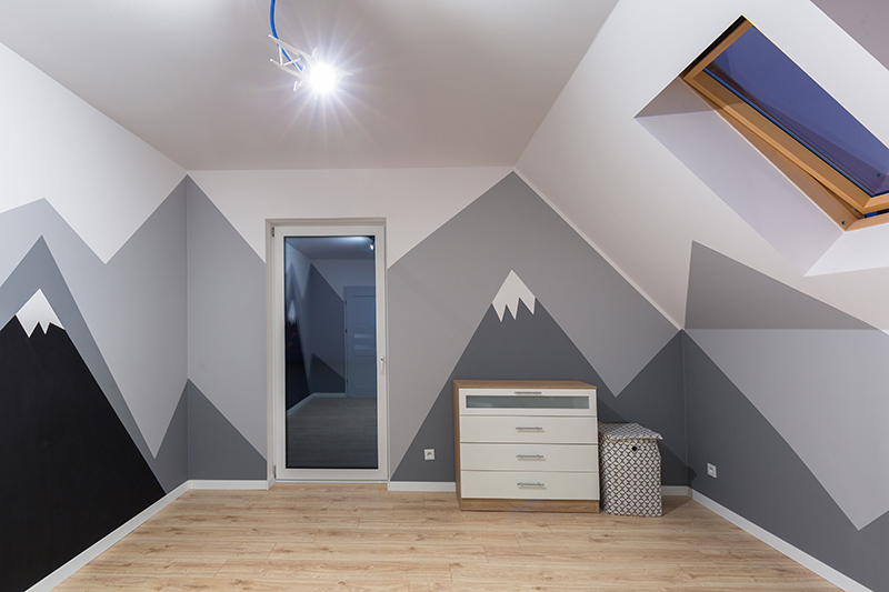 Enhance Your Child's Bedroom with a Creative Paint Job